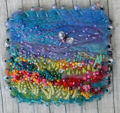 another great brooch by fiberluscious