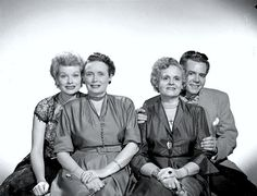 Lucille Ball with mother DeDe, and Desi Arnaz with mother Dolores I Love Lucy Show, My Love, Classic Hollywood, Old Hollywood, Hollywood Pictures, Hollywood Couples, Lucy And Ricky, Lucy Lucy, Vivian Vance