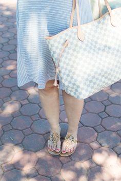 A Striped Dress with a Slight Twist