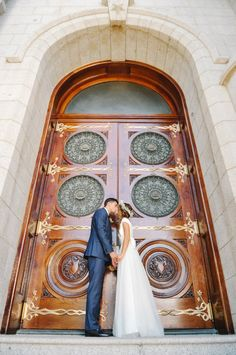 Doors of Salt Lake City Temple | photography by http://rebekahwestover.com/