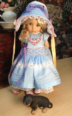 Effner Little Darling muñeca OOAK Flores por SewMuchMoreToSew