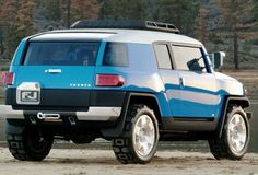Toyota FJ Cruiser 2015 Blue Custom