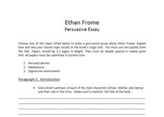 the chosen vocabulary project high school students student and ethan frome persuasive essay format