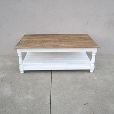 Coffee Table with Shelf - Nadeau Raleigh