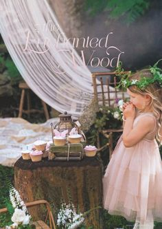 Enchanted wood party idea from Donna Hay kids magazine Garden Birthday, Fairy Birthday Party, Girl Birthday, Birthday Ideas, Happy Birthday, Birthday Parties, Enchanted Forest Party, Enchanted Wood, Enchanted Garden