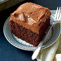 Chocolate-Mayonnaise Cake - Wickedly Delicious Chocolate Desserts Recipes - Southern Living