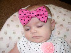 Baby Headband Baby Girl Headband Baby Hair by Goodtreasures123 #headband #babyheadband #babyheadwrap #bow