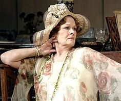 "Judi Dench as Judith in ""Hay Fever"" She is losing her sight to macular degeneration. What a tragedy."