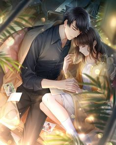 Romantic Anime Couples, Romantic Manga, Anime Couples Drawings, Anime Couples Manga, Anime Angel Girl, Anime Girl Cute, Anime Art Girl, Love Cartoon Couple, Anime Love Couple