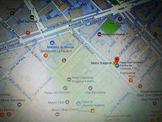 http://www.happysoul.cat/es/contacto/ A partir de ahora la ubicación en Barcelona es Rambla Catalunya, 110, esquina Rosselló, delante la parada metro Diagonal y FFCC Provença.