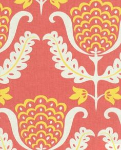 I want this coral and yellow rug for the bedroom