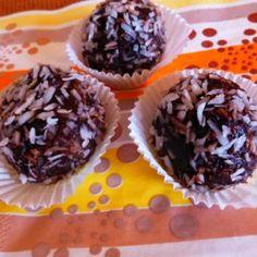 Datolyás-müzlis energiagolyó   Nosalty Nutella, Paleo, Muffin, Snacks, Breakfast, Recipes, Food, Cukor, Candy