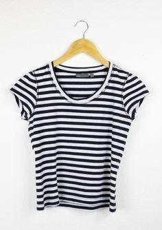 Second Hand T-Shirt, gestreift, 4,00€