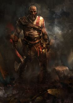 3 Cool Artworks by Murat Gül - Follow Artist on ArtStation  More God Of War Related Artworks   More The Witcher Related Artworks