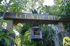 Le Tub Hollywood Florida was featured on Diners, Drive-ins and Dives