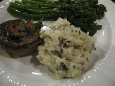 Sour Cream & Chive Smashed Potatoes Serves 4 1 lb small red potatoes 2 ...