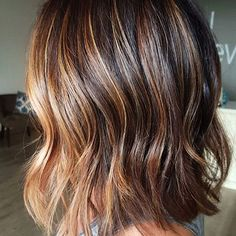Layered Brown Hair