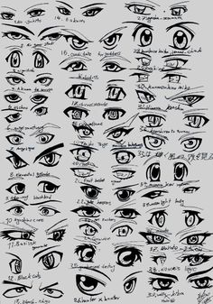 how to - anime eyes
