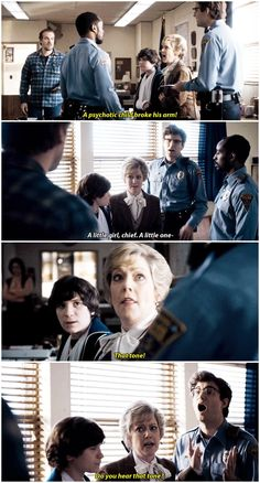 Honestly, I'm just trying to state a fact: it was a little girl!  #this scene lmao #stranger things #1.07