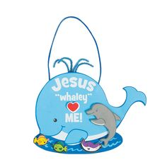 Jesus+Whaley+Loves+Me+Sign+Craft+Kit+-+OrientalTrading.com
