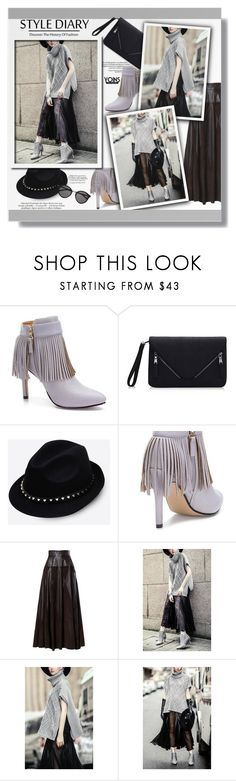 """""""Yoins"""" by clumsy-dreamer ❤ liked on Polyvore featuring Valentino, Yves Saint Laurent, women's clothing, women, female, woman, misses, juniors and yoins"""