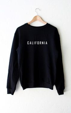 California Sweater - Black   NYCT Clothing