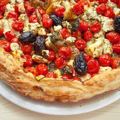 Tart ili pita sa čeri paradajzom