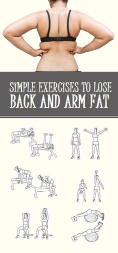 8 Simple Moves to Lose Back and Upper Arm Fat