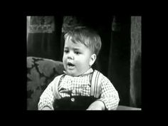 I loved the Little Rascals! Growing up, this was the show to watch. One of my favourites scenes with Spanky. What a cutie!