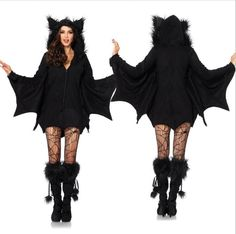 Halloween sexy women costumes bat lingerie clothing for women high quality M XL plus size 2016 New Arrival #Affiliate