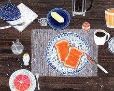 azurea:  Breakfast by Becca Stadtlander.