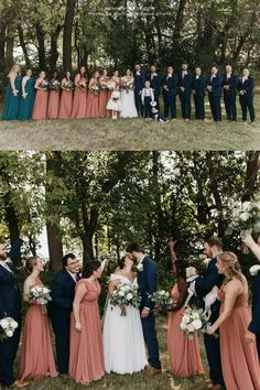 The colors these beautiful bridesmaids are wearing are 'Marine and 'Spice' in different styles from Kennedy Blue. Kennedy Blue offers 100+ styles, 50+ colors, sizes 00-32 that are easy to mix & match with other styles. Find your perfect bridesmaid dress online at Kennedy Blue! // orange bridesmaid dress // orange bridesmaid dress // orange bridal party // orange themed wedding // spice orange bridesmaid gown