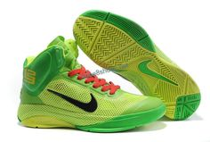 Nike Zoom Hyperfuse Christmas Day 2012 XDR Lime Green Yellow 407622 702