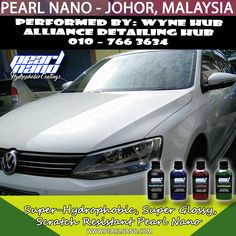 Ceramic Coating Performed by Wyne Hub Alliance Detailing Hub had involved in Malaysia car detailing & car coating services. Our main product line are now the world wide well known Pearl Nano Coating series products and Hilustre Car Care series products. Call 010–766 3634 Now! For Interested Distributors and Dealers of Pearl Nano please contact Dave: Dave@PearlUSA.net or Call: 808 779–7163. Visit www.pearlnano.com #wynehub #alliancedetailinghub #pearlmalaysia