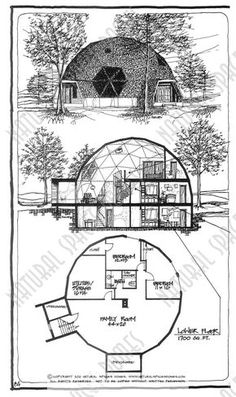 Monolithic Dome Homes, Geodesic Dome Homes, Earthship Home, Earthship Plans, Silo House, Building A Container Home, Container Homes, Dome House, Earth Homes