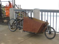Bamboo Cargo Bike (Bakfiets) instructable.