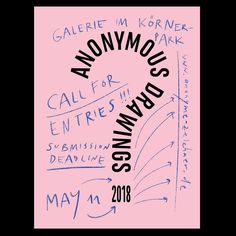 "Gefällt 51 Mal, 1 Kommentare - Ariane Spanier (@arianespanier) auf Instagram: ""Call for entries: @anonymous_drawings_berlin is calling for submissions to their next exhibition in…"""