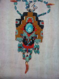 Mικροϋφαντική-Needleweaving by Natassa Fokianidou-Theodoridou