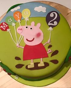 Iced to Perfection are specialists in luxury cakes and cupcakes for all occasions Peppa Pig Birthday Cake, Bithday Cake, Pig Cupcakes, Cupcake Cakes, 2nd Birthday Parties, Birthday Party Decorations, Fondant, Aniversario Peppa Pig, Pig Party