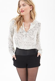Speckled Blouse | LOVE21 - 2000066829