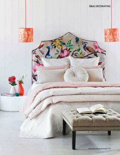 Headboard 101: Plain vs Pattern | http://lanaloustyle.com/2014/08/headboard-101-plain-vs-pattern.html