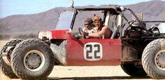 So cool. Steve McQuen & Bud Ekins in the Baja Boot dune buggy