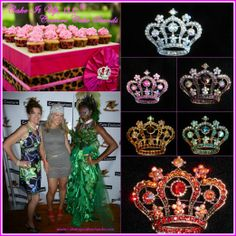 Rock your #Style #Crowns for #Bridal #Princess to match your #Couture #Cakestand #Wedding #Bridal #Shower www.cakeitupcakestands.com