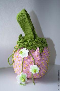 Детская сумочка Клубничка - детская сумочка,сумочка клубничка,подарки детям