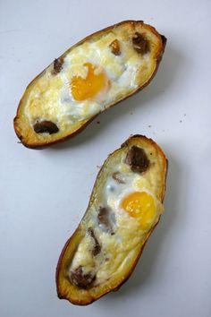 Steak and Egg Potato Skins by Primal Bites