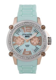 MULCO Womens MW228086S099 Analog Display Swiss Quartz Blue Watch *** Check out the image by visiting the link.Note:It is affiliate link to Amazon.