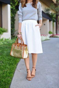 Skirt with poc