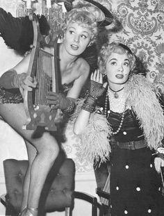 Shelly Winters & Ann Blyth