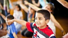 'Through dance, children develop spatial awareness, become less clumsy and pay more attention to others sharing their space.' Image (c) Mat Wright Family Yoga, British Council, Image C, Dance Academy, Best Dance, Space Images, Early Education, Dance Moms, Fle
