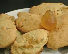Biscuits à l'anis et poires confites #glutenfree #glutenfreerecipes #sansgluten #recette